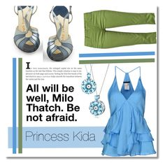 """Disney Collection: Princess Kida"" by montcastanon ❤ liked on Polyvore featuring Pinko, Monkee Genes and Dressunder50"