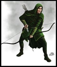 Male wood elf costume