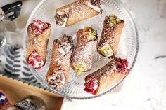 Ropogós édesség Szicíliából: cannoli