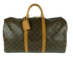 Louis Vuitton Keepall, fantástico bolso de viaje...¿por menos de la mitad de su precio?? Solo en www.misbolsosdelujo.com