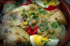 COCINA ANDALUZA: Pollo en Salsa al estilo de Lanjarón