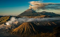 Active Volcanos