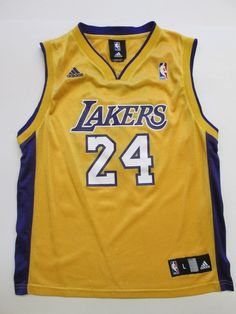 NBA Kobe Bryant #24,  Los Angeles Lakers Jersey by Adidas, Youth L 14-16 #adidas #LosAngelesLakers