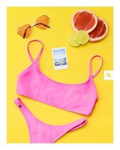 Colección baño #bañadores #bikiki #verano Bikini Rosa, Pink Bikini, Bikini Beach, Bikini Colors, Bikinis, Swimwear, Sporty Style, Beautiful Lingerie, Mexico