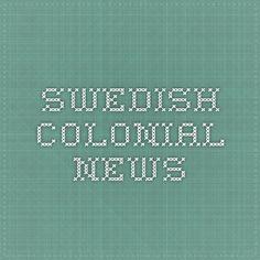 Swedish Colonial News