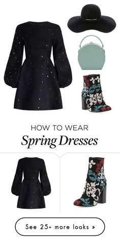 """""""..."""" by hani-bgd on Polyvore featuring Zimmermann, Rebecca Minkoff and Eugenia Kim"""