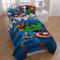 Marvel Comics Good Guys Comforter and Sheets 5pc Bedding Set Full Size * See this great product.Note:It is affiliate link to Amazon.
