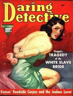 Daring Detective - July, 1938