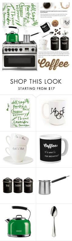 """Coffee Break"" by pokadoll ❤ liked on Polyvore featuring interior, interiors, interior design, home, home decor, interior decorating, GAS Jeans, Moon and Lola, Outlandish Creations and Typhoon"