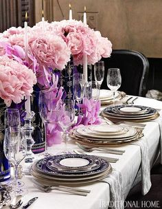 "Marchesa by Lenox ""Empire Pearl"" bone china in indigo and white"