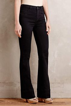 Pilcro Superscript High-Rise Flare Jeans - anthropologie.com