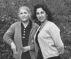 Franceschina Di Giandomenico e Olga Maria Vitocco (fine anni cinquanta)