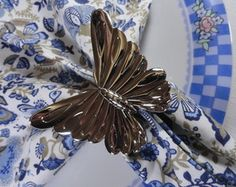 Porta guardanapo borboleta