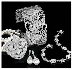Baroque accessories for a Drama Queen. See the collection from @AmericanSwiss #Jewellery