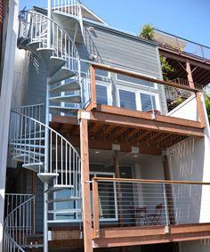 Best Three Floor Spiral Staircase Perfect In 2019 Spiral 640 x 480