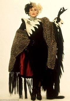 Taking on the iconic villain: Glenn Close played the baddie in the 1996 live-action version of 101 Dalmatians, and its 2000 sequel