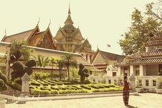 Templo de Wat Po en Tailandia donde se encuentra el buda acostado mas grande del mundo!!!