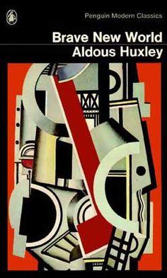 """Gran novela de Huxley; aunque es de 1932, trata temas muy actuales. En esta novela él dijo """"Sesenta y dos mil cuatrocientas repeticiones hacen una verdad""""."""