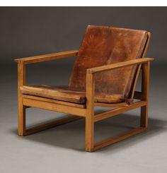 Børge Mogensen. Slædestol, model 2256
