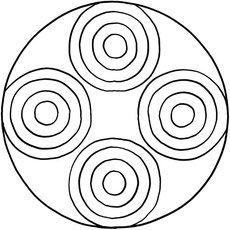 Mandalas zum Ausdrucken und Ausmalen 31 für Kinder