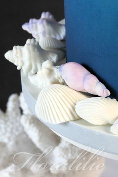 Octopus Cake - Sugar Shells | Floralilie Sugar Art