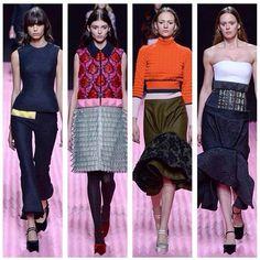 February, 22 Mary Katrantzou Fashion Show LFW fashionweek AW15 www.musestyle.com