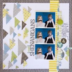Layout by Leslie Ashe using Lily Bee Design #scrapbooking #lilybeedesign