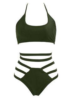 10e754b2a3599 Sexy Brand Swimwear Women High Waist One Piece Swimsuit 2017 Sexy Sling  Bathing Suit Womens Bandage Swimsuit Black Beach Wear