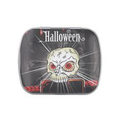 Happy Halloween Candy Tins