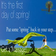 Finally Spring is Here! Click here: www.massageinnj.com