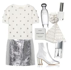 """""""Metallic"""" by trendsetter12 ❤ liked on Polyvore featuring Proenza Schouler, Alice + Olivia, Ilia, Judith Leiber, Estée Lauder, Topshop, Byredo and Christian Dior"""