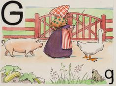 Elsa Beskow - Swedish Alphabet How gorgeous