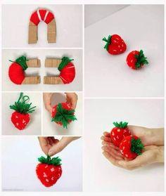 Pompon fraises