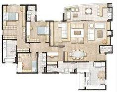 projatos casas com 200m2 4 quartos - Pesquisa Google