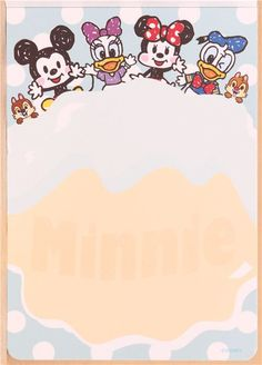 pink Disney Minnie Mouse Memo Pad from Japan - Memo Pads - Stationery - kawaii shop modeS4u