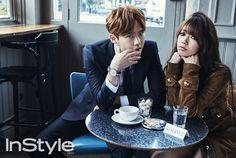 2015.04, InStyle, Lee Jong Suk, Park Shin Hye