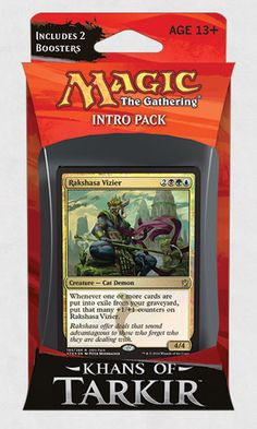 Khans of Tarkir Intro Pack - SULTAI SCHEMERS For Daddy!