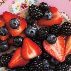 Salade de petits fruits à la vanille