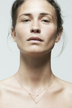 Sophie Bille Brahe - delicate and different necklaces.