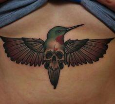 Hummingbird sternum