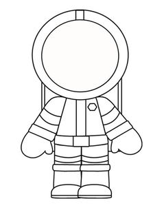 Preschool Coloring Pages Astronaut - Let's look at the sky! The coloring pictures on this page are dedicated to the topic astronaut. In the category Astronauts, you will find different mo. Space Preschool, Preschool Crafts, Preschool Printables, Preschool Learning, Planets Preschool, Space Printables, Preschool Themes, Astronaut Craft, Astronaut Images