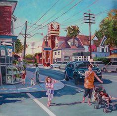 """""""Sweet September"""", Queen St E, Toronto. Sweet September, Urban Landscape, Anna, Fine Art, Workshop Ideas, Queen, Pictures, Inspiration, Toronto"""