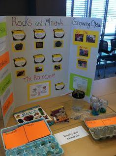 Science Fair 2013 - 3rd Grade - Rocks and Minerals