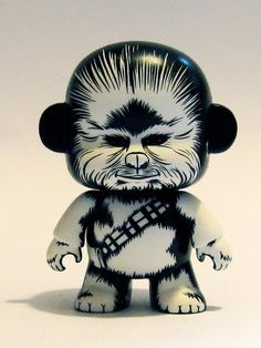 Super Punch: Custom Star Wars figures by Rick Grimes Mini-Munny from JonPaul Kaiser