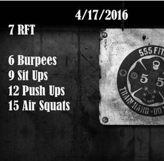 Workout #crossfit