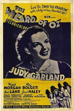 Original Movie Poster  - The Wizard of Oz