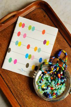 Cuaderno de escritura De toutes les couleurs en Ottoyanna. #cuaderno #libreta #carnets #cahiers #papeleria #notebook