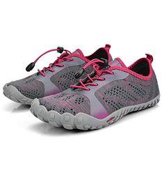 QANSI Boys Hiking Shoes Waterproof Wide Athletic Trail Running Sneakers for Boys 4 M US Big Kid
