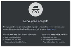 Quick Tip: How To Go Incognito In Google Chrome