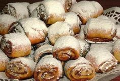 Hungarian Desserts, Hungarian Recipes, Cookie Desserts, Cookie Recipes, Dessert Recipes, My Recipes, Favorite Recipes, Bakery, Food And Drink